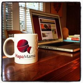Giveaway! Enter to Win Your Own HapaMama Mug