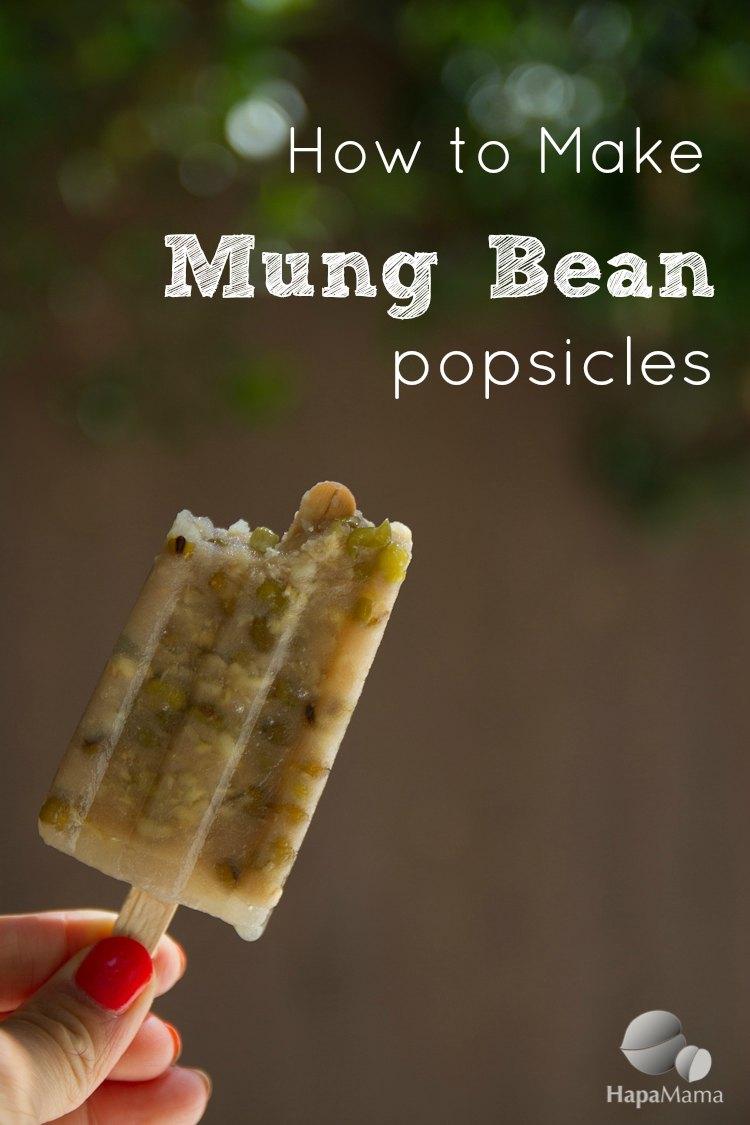 Mung Bean Popsicles- HapaMama