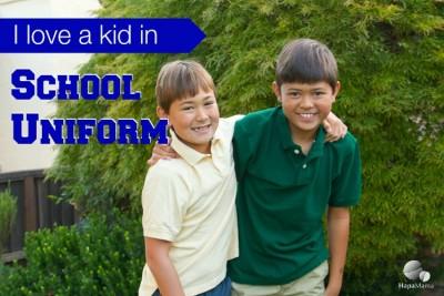I Love School Uniforms