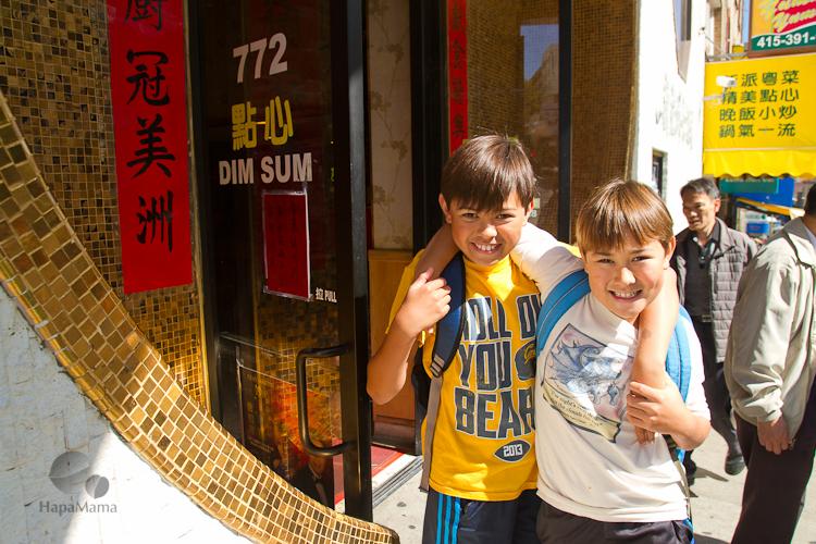 San Francisco Chinatown restaurant
