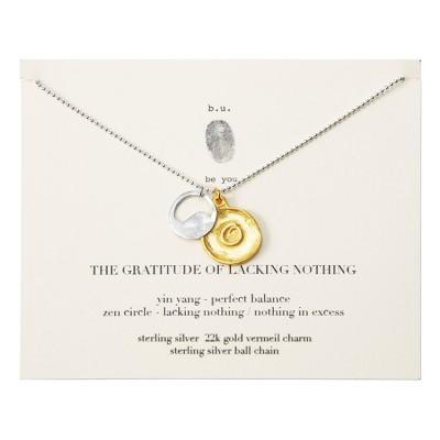 Gratitude Necklace, Uncommon Goods
