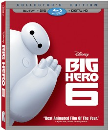 Big Hero 6 Giveaway: Collector's Edition Blu-Ray + DVD