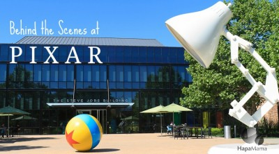 A Peek Behind the Scenes at Pixar Studios