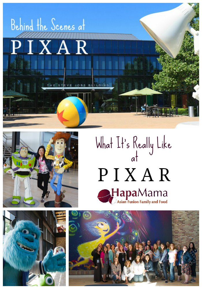 What It's Really Like at Pixar, HapaMama