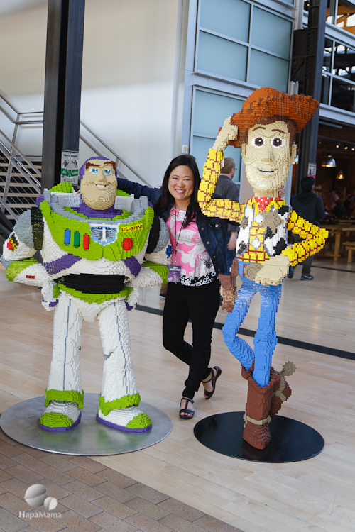 Pixar Buzz Woody