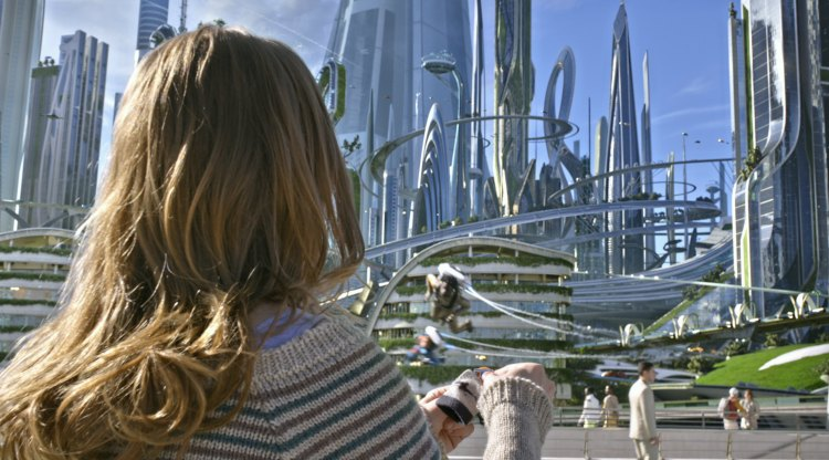 Britt Robertson in Disney's TOMORROWLAND