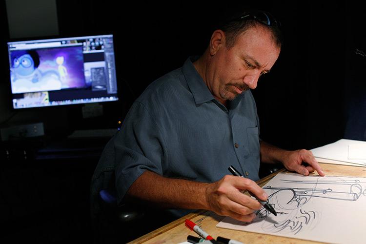 Ralph Eggleston, Disney Pixar Inside Out