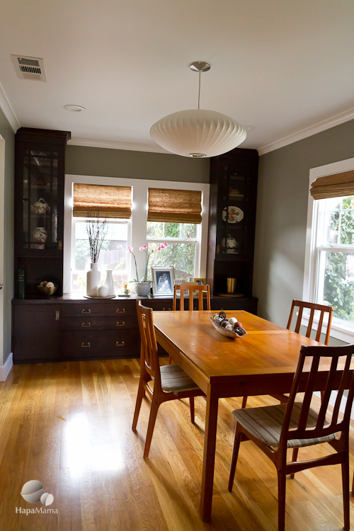 California bungalow dining room