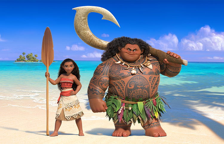 Native Hawaiian Teen Is the Voice of Disney Moana