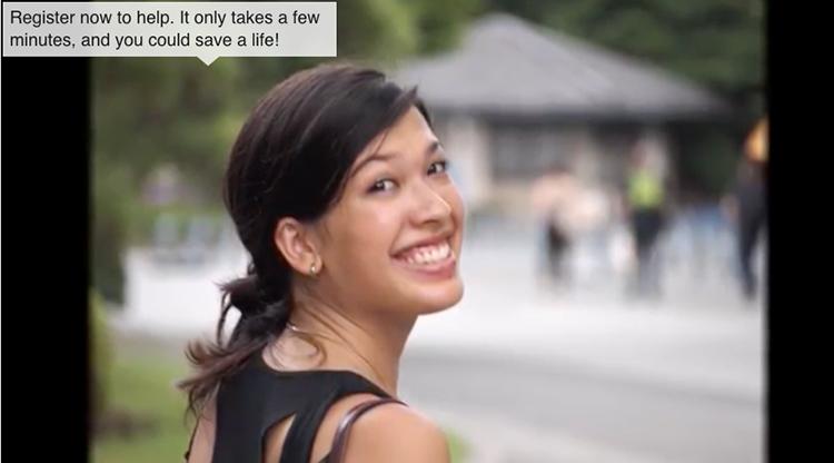 Lara Needs an Asian-White bone marrow donor