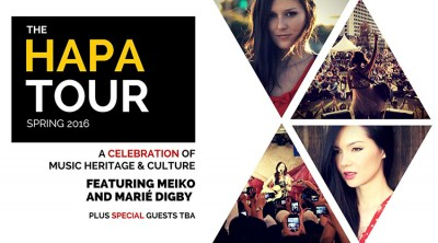 Meiko and Marie Digby Announce Hapa Tour