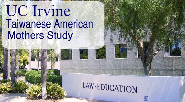 UC Irvine Taiwanese American Mothers Study