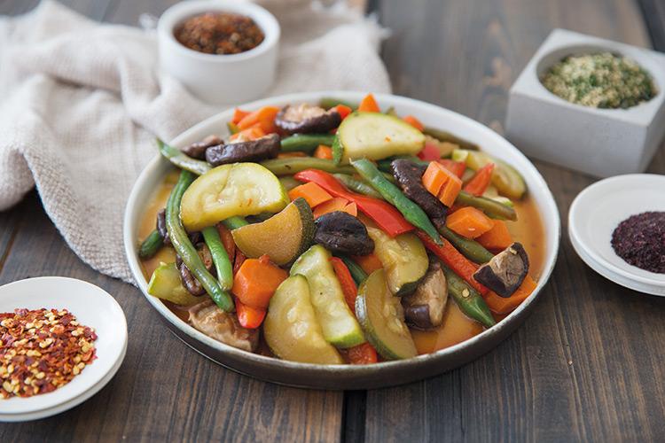 Ponzu Butter Vegetables