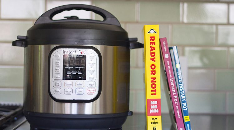 Instant Pot cookbooks new for Fall 2017