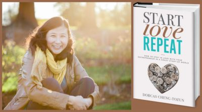 Dorcas Cheng-Tozun, author of Start Love Repeat