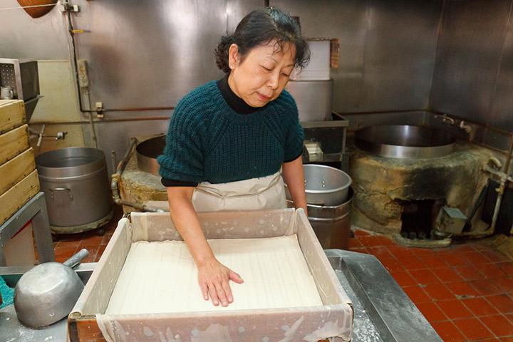 Amy Nozaki of San Jose Tofu, photo by Grace Hwang Lynch