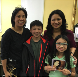 Kanemoto family with Larissa Lam Finding Cleveland