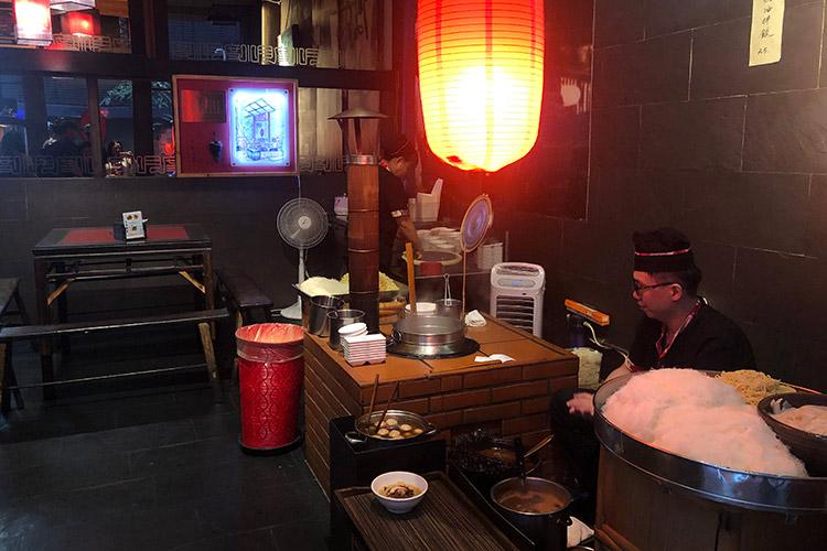Du Hsiao Yueh restaurant in Taipei